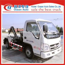 Forland small capacity of garbage truck for cheap price