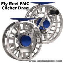 Clicker Drag CNC Carrete de pesca con mosca