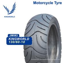 130 / 60-10 Neumático de goma para scooter de motocicleta
