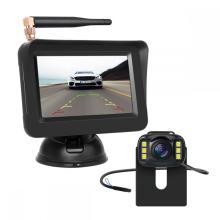 Cámara inalámbrica para automóvil con monitor para automóvil de 4.3 pulgadas