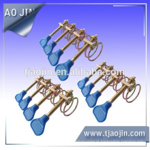 Grampo de mangueira de cabo de plástico duplo