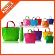 Fashion cheap brand gift shopping trolley bag