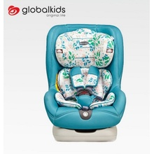 Baby car seats with green orange  covers