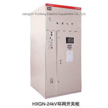Self-Research Tipo de caja AC Sealed Ring Net Switchgear-Hxgn-24
