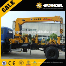 Famous SQ8ZK3Q truck mounted crane with good engine for sale