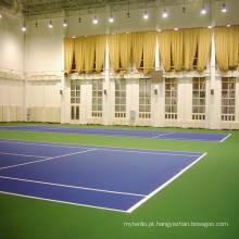 Inroll de alta qualidade do revestimento dos esportes do PVC para o tênis interno
