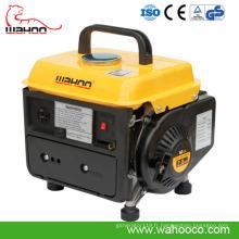 Générateur portatif d'essence / essence d'essence de 650W 700W2CE pour l'usage à la maison (wh950)