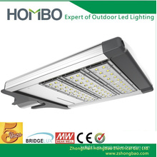 Lámpara de calle blanca estupenda de la venta 100W ~ 120W llevada sobre IP65 Aluminio impermeable llevó la lámpara al aire libre Luz de calle llevada Bridgelux