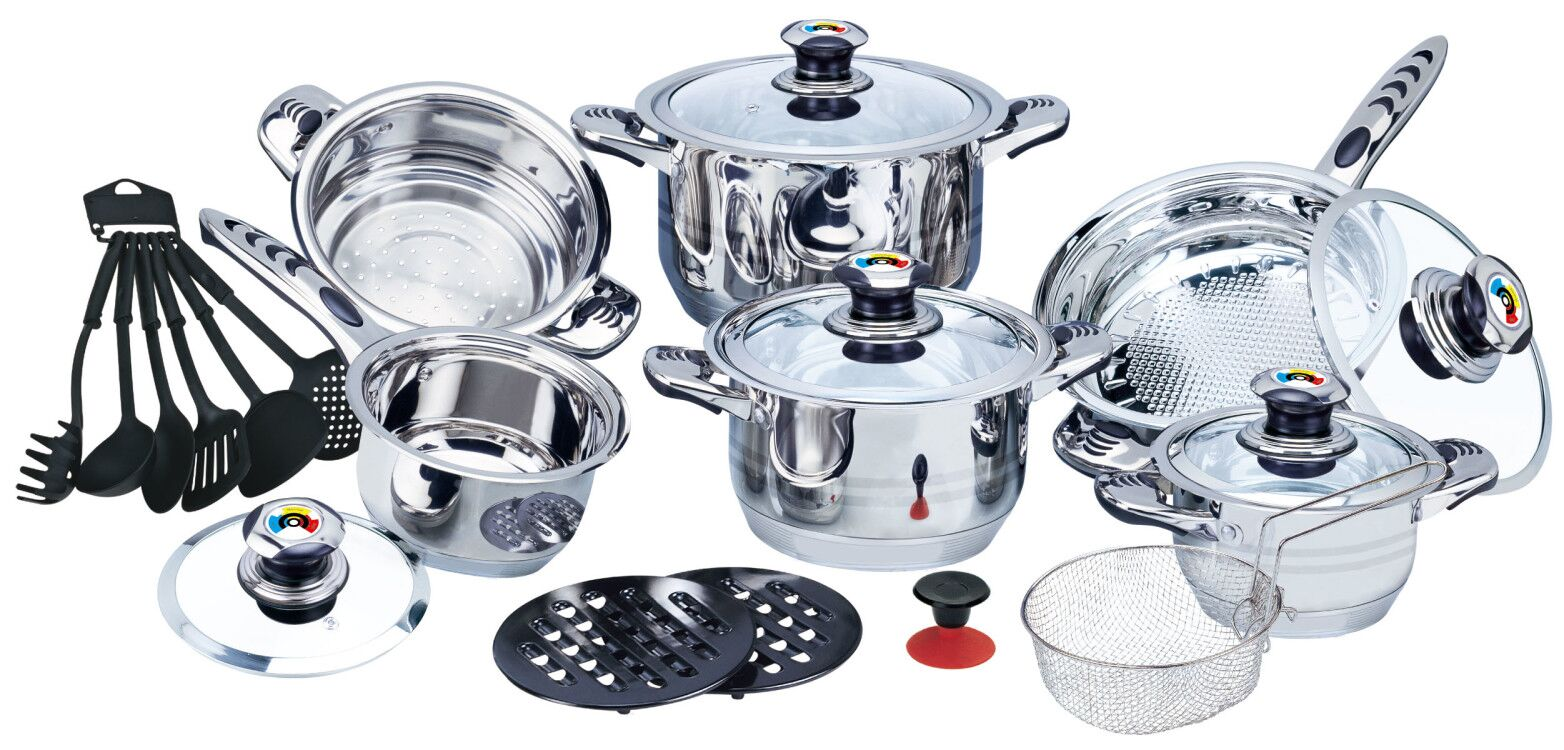 High quality 22pcs Cookware set 2020