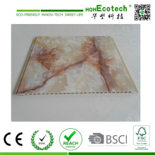 PVC Film Laminate WPC Interior Wall Cladding and Ceiling Panel and Skirting