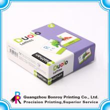 Papel de arte 350g impresso cartões de bandana de papel cartão