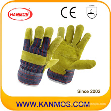 The Reversed Pig Grain Leather Industrial Safety Work Gloves (22007)