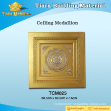 TOP Class Decorative PU Ceiling Tiles Interior With Diversified Latest Designs