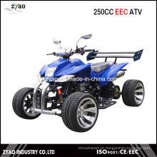 250cc água refrigerada CEE Quad Racing com 12inch liga de roda semi-automática CVT