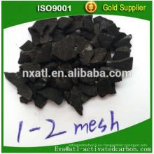 Adsorbente Palm Shell Carbón activado