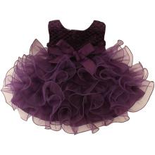 Hochwertige lila Phantasie Tutu Geburtstag Party Prinzessin Kleid für 3 Jahre alte Mädchen