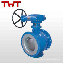 cast iron double eccentric half whitey ball valve
