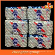 Shrink Wrap filme de polietileno, Eco-friendly PE rolo de filme feito para embalagem Mutipack Bundle