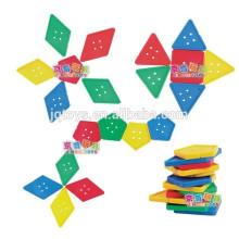 JQ1043 Hotsale Kids Manipulative DIY Threading Puzzle Block