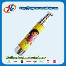 Artigos promocionais de brinquedo de plástico para mini telescópio para crianças