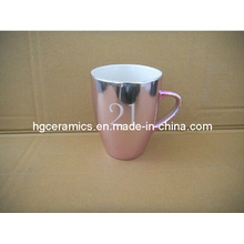 Metallic Color Mug, Metallic Color Promotional Mug