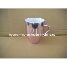 Taza metálica del color, taza promocional del color metálico