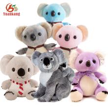 Personalizado azul / rosa / púrpura / Mini / Gigante / oso de Koala de la panda del bebé, juguetes rellenos felpa suave de la koala de la Navidad con su logotipo