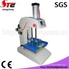 Machine impression de transfert de chaleur pneumatique automatique certificat de la CE