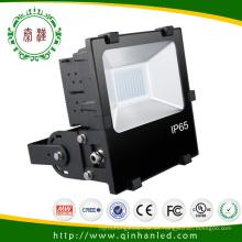 Ce / RoHS aprueba la luz de inundación al aire libre de IP65 100W LED (QH-FLXH-100W) 5 años de garantía