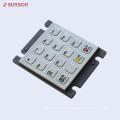 PIN pad de criptografia PCI para máquina de venda automática