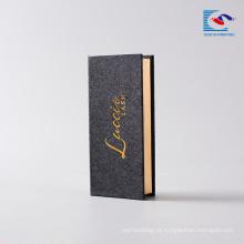 caixas de embalagem de impressão de cartão cosmético para cílios falsos