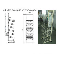 Durable Modern Design Metal Display /Display with Casters (ADS-89)