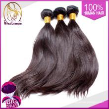Китай Гуанчжоу оптового рынка волос коричневый, человека переплетения волос