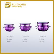 Diamond Shape Acrylic Cream Jar