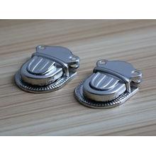 Cerradura del fabricante del fabricante barato de la insignia y del metal del tamaño para los bolsos
