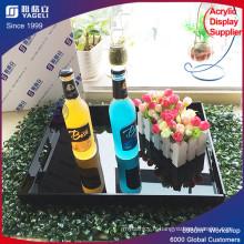 Rectangle Black Acrylic Serving Tray