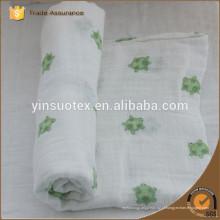 100% algodão manta de bebê tricotado, cobertores de algodão barato atacado