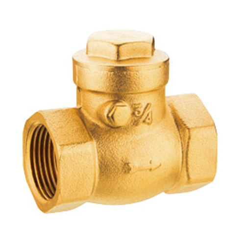 J5004 brass swing check valve