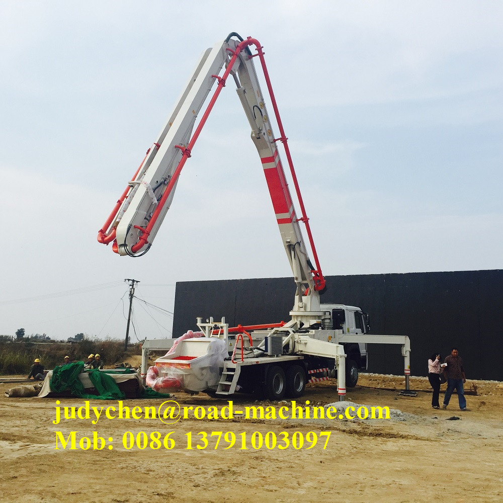 Xcmg Sany 37m Concrete Boom Pump Truck