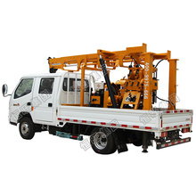 Mining working Borehole Water well drilling rig hydraulic multi-purpose drilling rig loading on trucks