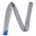 4 Ton Capacity 4M Or OEM Length Lifting 4T Sling Round Belt Gray Color Safety Factor 8:1 7:1 Type