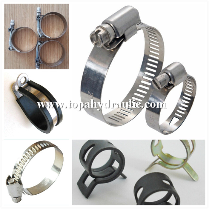 German heavy duty carbon steel hose clip