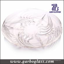 Plaque en verre en forme de S (GB1726)
