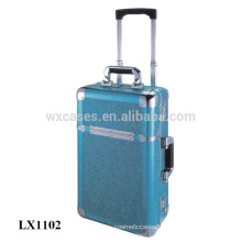 portable aluminum kids hard shell luggage wholesale from China factory