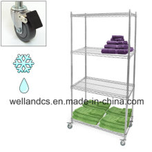 NSF Hygienic Wire Shelving for Hospital (CJ12045180A4CW)