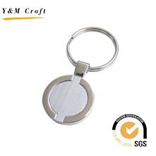 Heißer Verkauf Runde Form Metall Schlüsselbund für Geschenk (Y02303)