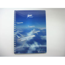 2015 Novel Custom Notebook Printing with 3D