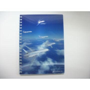 2015 nuevo cuaderno personalizado impresión 3D