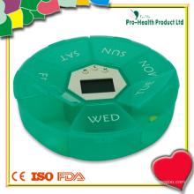 Boîte de pilule d'alarme électrique numérique