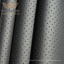 Materials Quality Supplier Car Steering Wheel Cover Armrest Door Automotive Perforated Vegan Leather